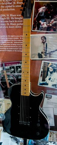 Eric Clapton guitar, Rock 'n Soul Museum, Memphis