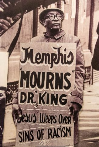 Martin Luther King March 5 April 1968, Rock 'n Soul Museum, Memp