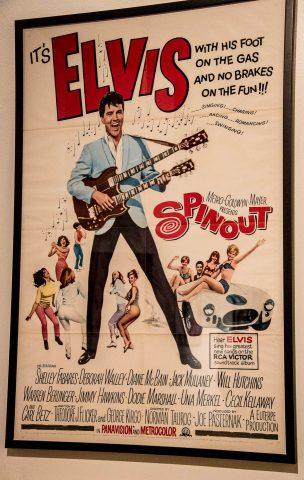 Elvis poster 1966, Rock 'n Soul Museum, Memphis