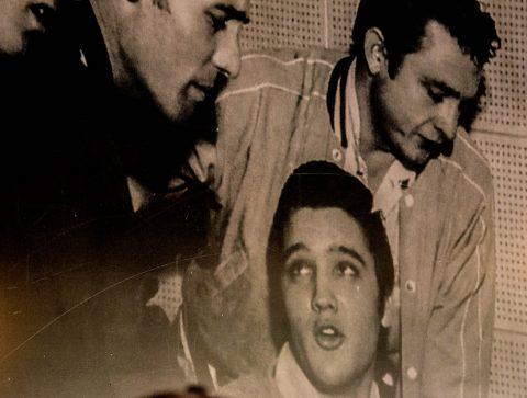 Million dollar Quartet Dec 1956, Sun Studio,  Memphis