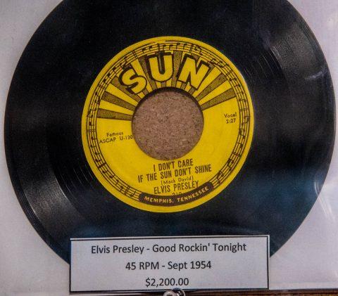 Elvis vinyl, Sun Studio, Memphis
