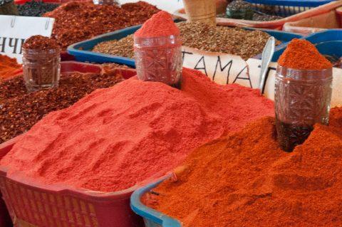 Spices, Chorsu Market, Tashkent