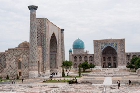 The Registan Ensemble, Samarkand