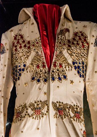 Elvis jump suit, Graceland, Memphis