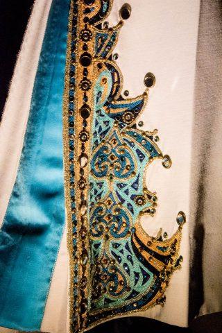 Elvis aztec jump suit, Graceland, Memphis