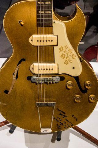 Elvis Million Dollar Quartet guitar, Graceland, Memphis
