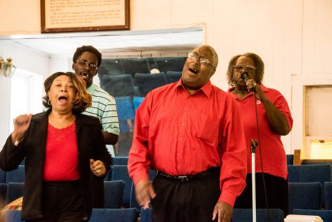 Gospel Choir, Baptist Church, Helena, Arkansas