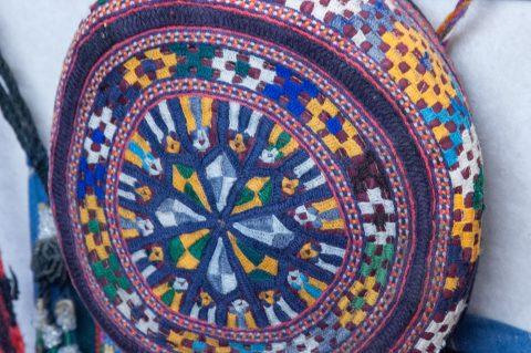 Local hat, Samarkand
