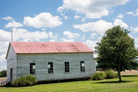 St James' Baptist Church, Frogmore Plantation, Louisiana