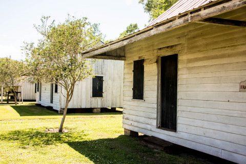 Slave Huts, Frogmore Plantation, Louisiana