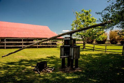 Beam Cane Mill. Frogmore Plantation, Louisiana