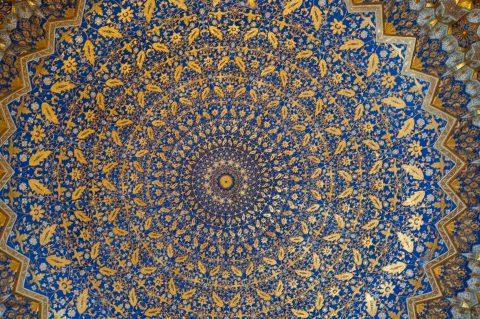 Interior, Tilla-Kari Madrassah, Samarkand