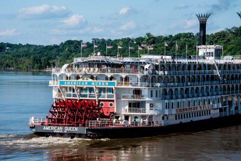American Queen steamship, Natchez, Mississippi
