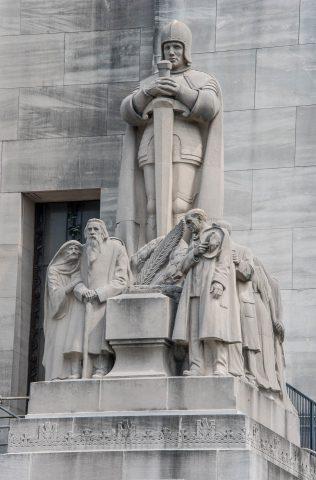 State Capitol Building (detail), Baton Rouge, Louisiana