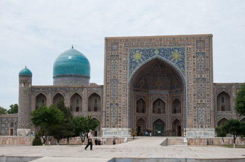 Tillya-Kari Madrassah, Samarkand