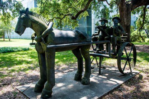 Musicans by Al Lavergne, State Capitol Park, Baton Rouge