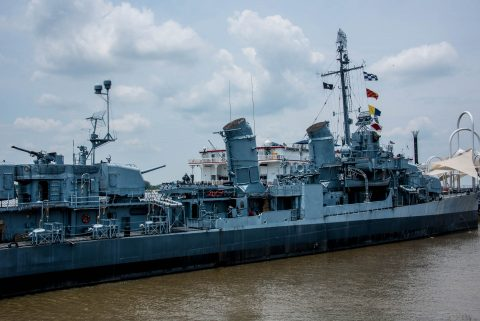 USS Kidd, Baton Rouge