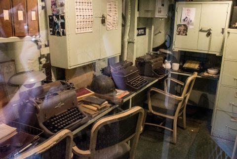 USS Kidd communicatitons centre, Baton Rouge