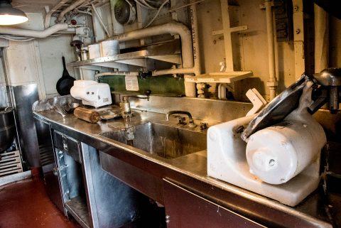 USS Kidd galley, Baton Rouge
