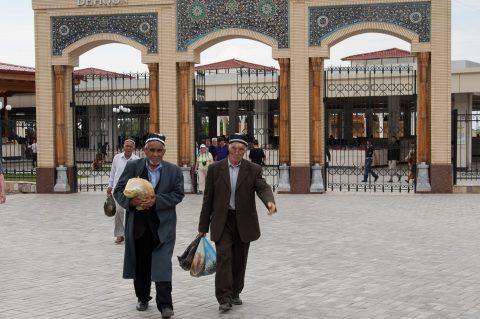From local market, Samarkand