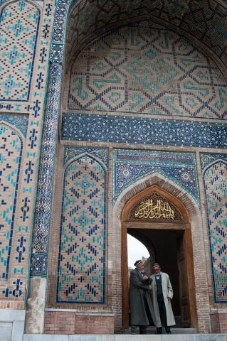 Bibi Khanum Mosque, Samarkand damage