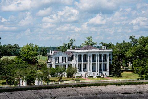 Levees at Nottoway Plantation, Louisiana