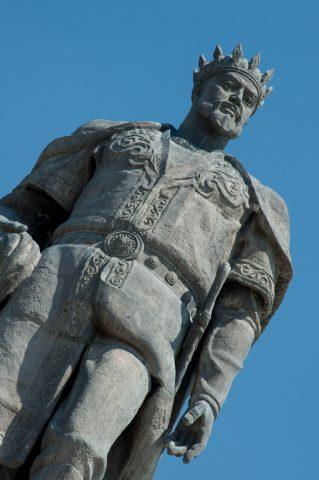 Tamerlane statue, Shakhrisabz