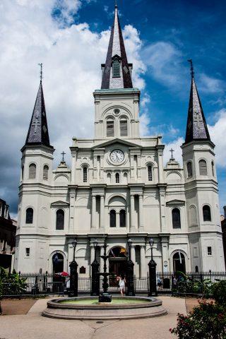 Catherdal Basilica of Saint Louis, New Orleans, Louisiana