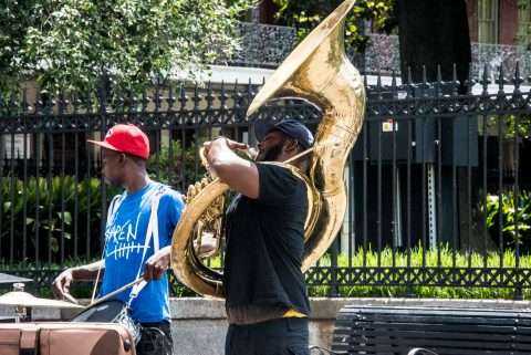 Street music, New Orleans, Louisiana