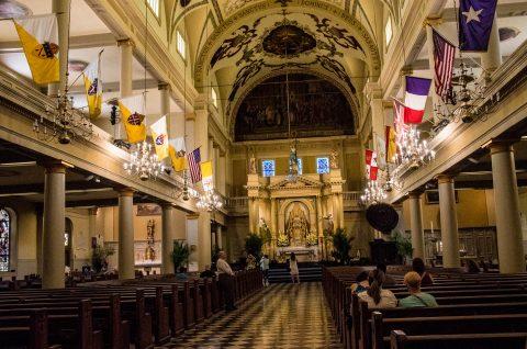 Catherdal Basilica of Saint Louis, New Orelans, Louisiana