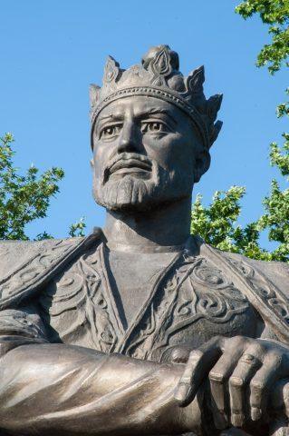 Tamerlane statue, Samarkand