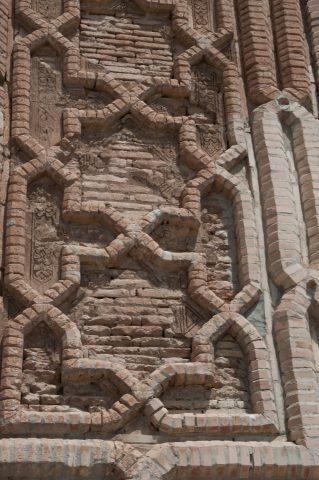 Caravanserai on Silk Road towards Bukhara