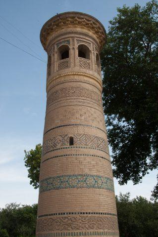Mineret, Bolo Hauz Mosque, Bukhara