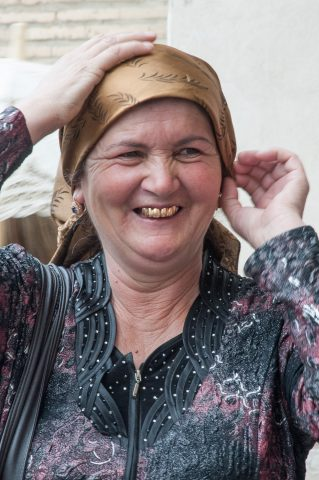 Bukhara lady
