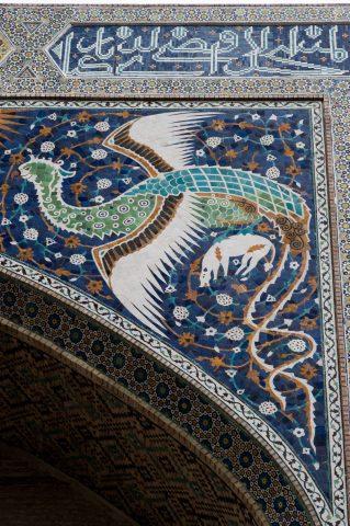 Bakhauddin Nakhshbandi Ensemble, Bukhara - detail