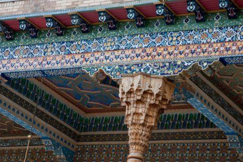 Bakhauddin Nakhshbandi Ensemble, Bukhara - roof