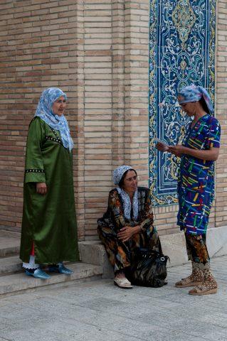 Outside ladies mosque, Bakhauddin Nakhshbandi Ensemble, Bukhara