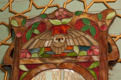 Artifacts inside Sitorai Makhi Khosa, Bukhara