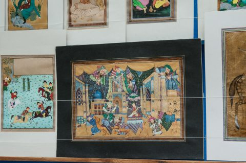 Local artists work for sale, Bukhara
