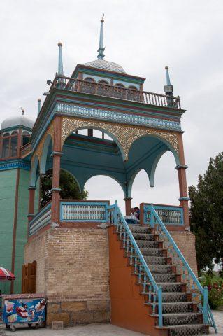 Viewing platform, Sitorai Makhi Khosa, Bukhara