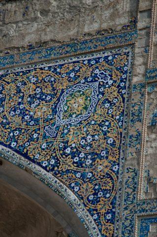 Ulug Beg Madrassah, Bukhara - detail