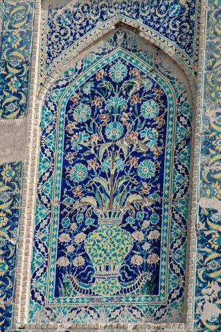 Abdul Aziz Madrassah, Bukhara - detail