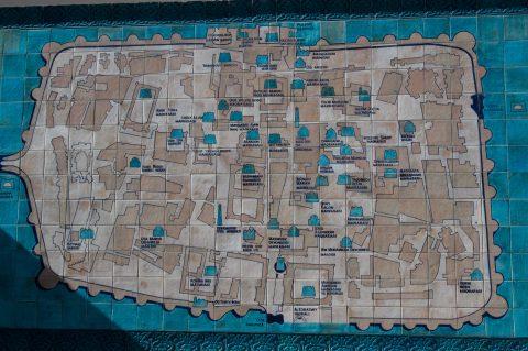 Khiva - map