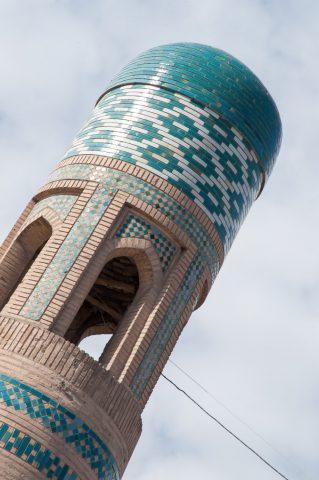 Mohammed Amin Khan Madrassah mineret, Khiva