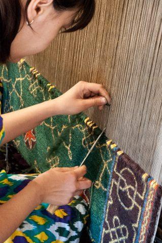 Carpet weaving, Khiva