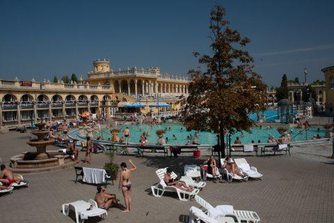 Szeche Furdo baths, Budapest