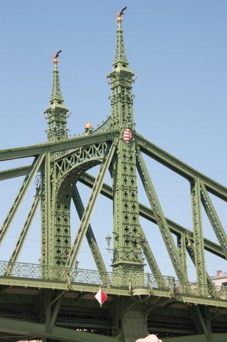 Szabadsag (or Liberty) Bridge, Budapest