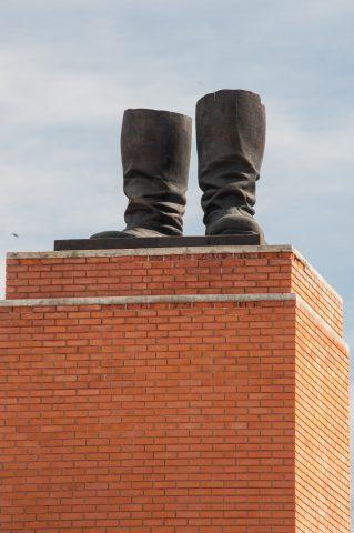 Stalin's boots, Memento Park, Budapest