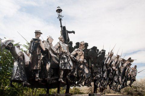 Bela Kun Memorial, Memento Park, Budapest