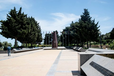 War Memorials park, Baku